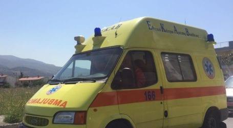 Τροχαίο ατύχημα στα Κ. Λεχώνια – ΙΧ συγκρούστηκε με μηχανάκι