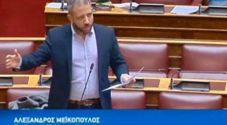 Αλ. Μεϊκόπουλος: «Να χρηματοδοτηθεί και να ολοκληρωθεί άμεσα το αντιπλημμυρικό έργο του Αγνώντα της Σκοπέλου»