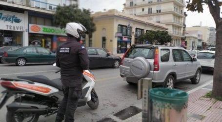 «Σαφάρι» της Δημοτικής Αστυνομίας στο κέντρο του Βόλου για την παράνομη στάθμευση