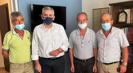 Χαρακόπουλος με παραγωγούς: «Κορονοενίσχυση»και επιδοτήσεις από ΚΑΠ ζητούν οι εκτροφείς γαλοπούλας
