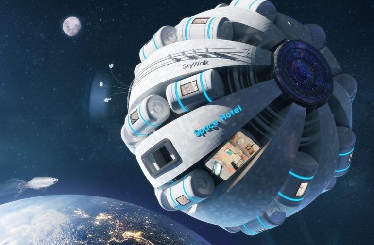 Ξενοδοχείο στο διάστημα Ανοίγει τις πόρτες του το 2024