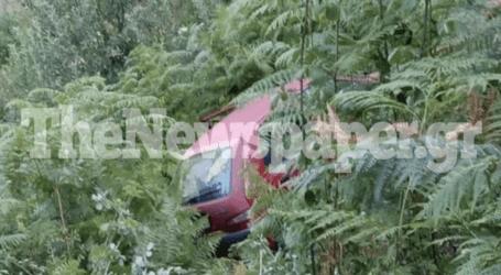 Περιπέτεια για οικογένεια στο Πήλιο – ΙΧ έπεσε σε γκρεμό 14 μέτρων [εικόνες]