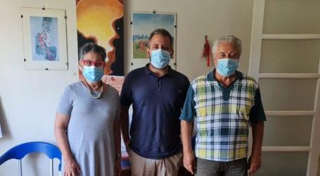 Συνάντηση Αλ. Μεϊκόπουλου με το Σύλλογο Οικογένειας του ΚΕΘΕΑ ΠΙΛΟΤΟΣ Βόλου