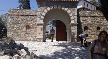 Βελτιώνει την προσβασιμότητα στην Ι. Μονή Παναγίας Οδηγήτριας στην Πορταριά Πηλίου η Περιφέρεια Θεσσαλίας