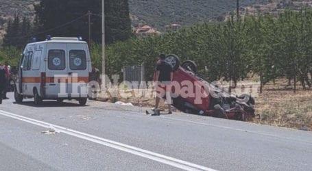 Σοβαρό τροχαίο ατύχημα στις Αλυκές – Δείτε εικόνες