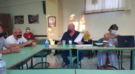 Τοπικό συμβούλιο στην Αγριά για το νερό – Παρόντες Μπέος – Τόρης – Κοπάνας [εικόνες]