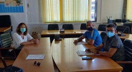 Επίσκεψη της Βουλευτή ΣΥΡΙΖΑ ΠΣ Κατερίνας Παπανάτσιου στη Π.Ε Μαγνησίας – Συζήτηση με τους εργαζόμενους