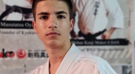 Ο Βολιώτης Κ.Μυτιλιός στο Πανελλήνιο Πρωτάθλημα Καράτε