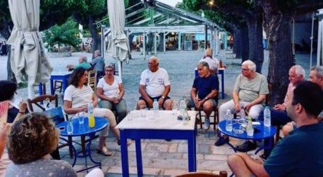 Επίσκεψη Κ. Παπανάτσιου στην Σκόπελο