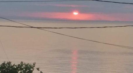 Λάρισα: Όταν η ανατολή φωτίζει τον Άθω οι εικόνες από το Πολυδένδρι είναι μαγευτικές (φωτο)