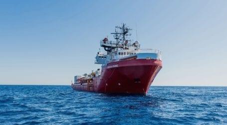 Το πλοίο Ocean Viking διέσωσε 44 μετανάστες στη Μεσόγειο