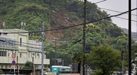 Κατολισθήσεις από καταρρακτώδεις βροχές στην Ιαπωνία
