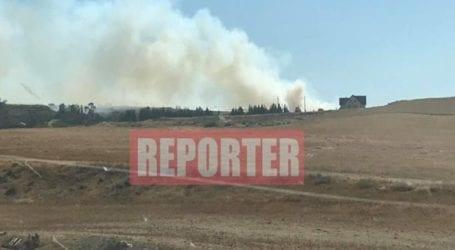 Φωτιά απειλεί κατοικημένη περιοχή στην κοινότητα Αραπακά της επαρχίας Λεμεσού