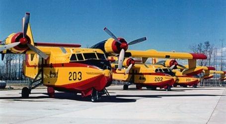 Η Ελλάδα στέλνει δύο Canadair στην Κύπρο για τη μεγάλη πυρκαγιά στη Λεμεσό