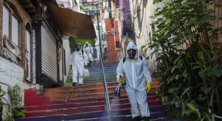 1.635 θάνατοι το τελευταίο 24ωρο στη Βραζιλία