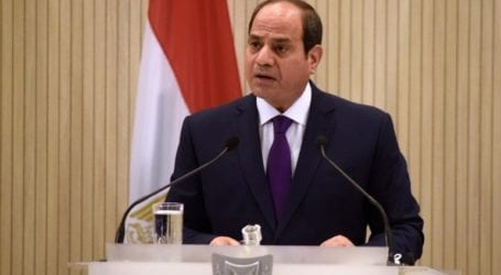 Ο πρόεδρος Σίσι εγκαινίασε ναυτική βάση κοντά στα σύνορα με τη Λιβύη