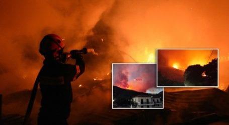 Συνεχίζεται η μάχη με τις φλόγες στη Κεφαλονιά
