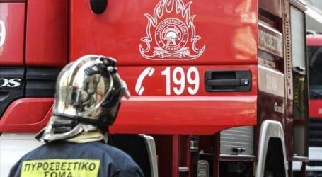 Συναγερμός στην Πυροσβεστική για πυρκαγιά στο Ηράκλειο