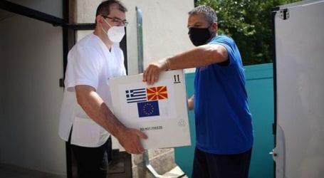 Η Ελλάδα απέστειλε 100.000 εμβόλια AstraZeneca στη Βόρεια Μακεδονία
