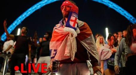 Euro 2020: Ταραχές στο Λονδίνο τη νύχτα του τελικού