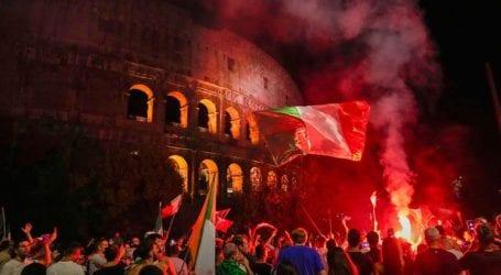 Η Ιταλία ξενύχτησε με πανηγυρισμούς