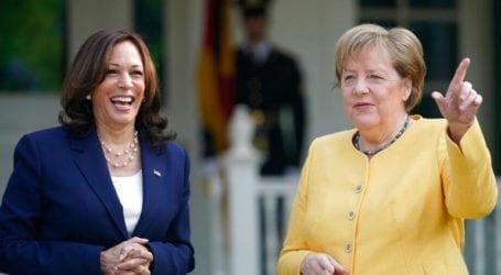 ΗΠΑ: Η Κάμαλα Χάρις υποδέχθηκε τη Μέρκελ