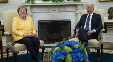 Συνάντηση Μπάιντεν – Μέρκελ στον Λευκό Οίκο