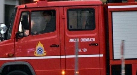 Υπό πλήρη έλεγχο τέθηκε η φωτιά στη Νεοχωρούδα