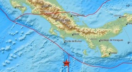 Σεισμική δόνηση 6,2 Ρίχτερ νότια του Παναμά