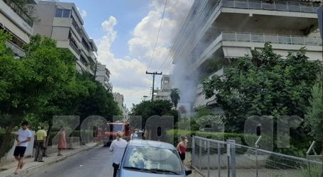 Φωτιά σε διαμέρισμα στο Μαρούσι