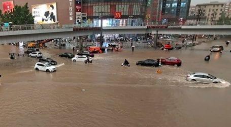 Τουλάχιστον 12 νεκροί από πλημμύρες στο μετρό της πόλης Τσεντσόου