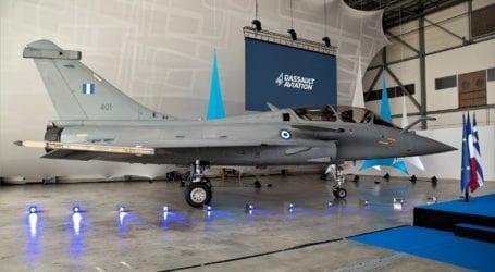 Μητσοτάκης για το πρώτο αεροσκάφος Rafale που παραλάβαμε: Τα Ελληνικά φτερά δυναμώνουν