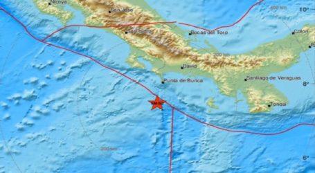 Πολύ ισχυρή σεισμική δόνηση σε θαλάσσια περιοχή νότια από την Πούντα Μπουρίκα