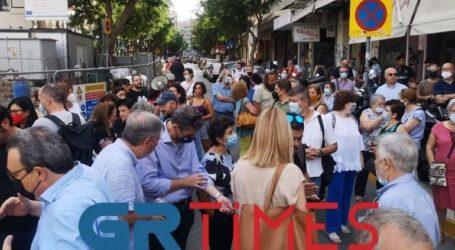 Διαμαρτυρία αρχαιολόγων για την απόσπαση των αρχαιοτήτων στον σταθμό Βενιζέλου του Μετρό