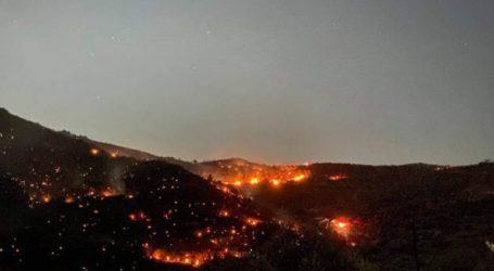 Λασίθι: Συνεχίζεται η μάχη με τις φλόγες