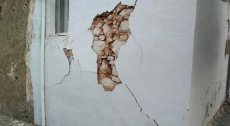 Ζημιές σε χωριό του Ηρακλείου μετά τον σεισμό