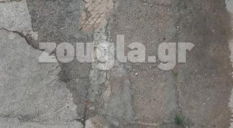 Καταγγελία: Διαρροή νερού στην Ηλιούπολη
