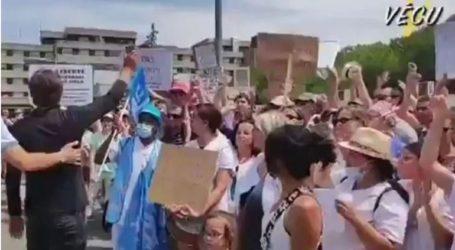 Γαλλία: Απεργία υγειονομικών στην πόλη Μοντελιμάρ