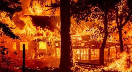 Η πυρκαγιά Ντίξι κατακαίει την Καλιφόρνια