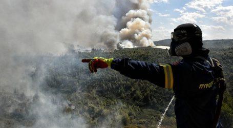 Πυρκαγιά σε αγροτοδασική περιοχή στο Κιλκίς