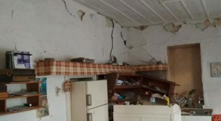Κλιμάκιο ειδικών ελέγχουν κτίρια στο Αρκαλοχώρι μετά τους σεισμούς
