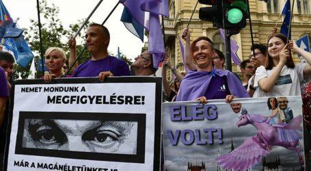Εκατοντάδες άνθρωποι διαδήλωσαν κατά της παράνομης παρακολούθησης στην Ουγγαρία