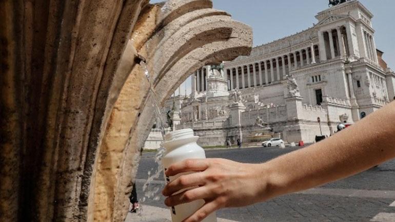 Ιστορικός καύσωνας στην Ιταλία – Πρόβλεψη για 47 βαθμούς Κελσίου