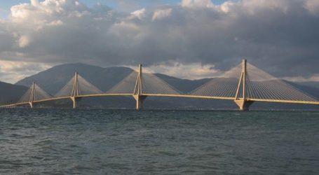 Διακόπηκε η κυκλοφορία των οχημάτων στη γέφυρα Ρίου-Αντιρρίου λόγω της φωτιάς στη Ζήρια