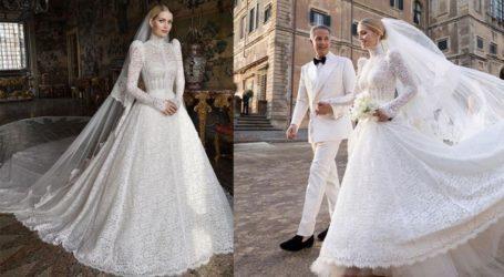 Lady Kitty Spencer: Ο μεγαλοπρεπής γάμος της στη Ρώμη και το Dolce & Gabbana νυφικό της