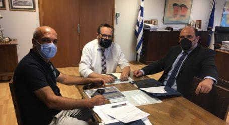 Χρ. Τριαντόπουλος: Αποκατάσταση και βελτίωση των λιμενικών υποδομών στο Δήμο Αλμυρού