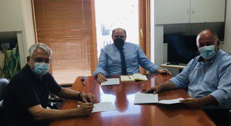 Χρ. Τριαντόπουλος: Οριστικοποιήθηκε η συνεργασία Δήμου Ρ. Φεραίου και ΕΤΒΑ για τη δημιουργία επιχειρηματικού ή εμπορευματικού πάρκου
