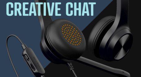 Creative Chat: Επικοινωνία και Ήχος στη σωστή τιμή