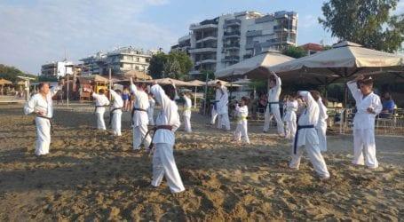 ΤΟ 21Ο GREEK SUMMER CAMP KYOKUSHINKAI KARATE TOY Κ. ΙΩΑΝΝΗ ΣΤΕΦΑΝΟΥ ΣΤΟΝ ΒΟΛΟ