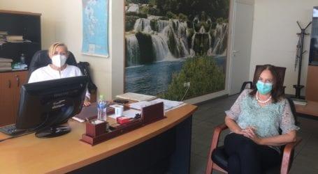 Κατερίνα Παπανάτσιου: Eπισκέφθηκε δημόσιες γεωτεχνικές υπηρεσίες